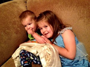 Claire and Cam, Morning Snuggle Time