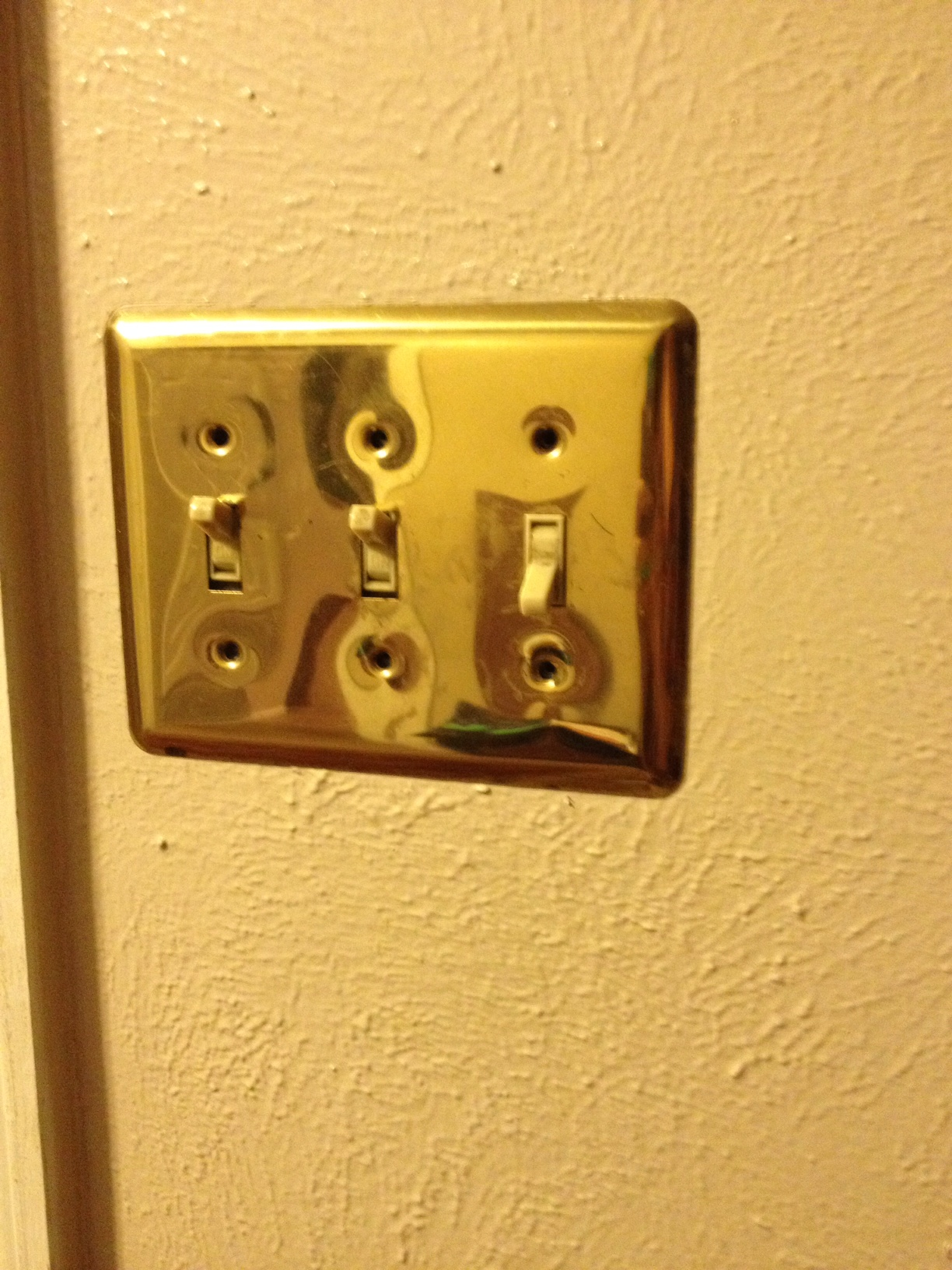 Brass Light Switch Covers Cool Antique Brass Pushbutton Light ...